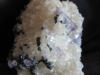 Hematite on Fluorite and Calcite