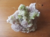 Green Tourmaline on Lepidolite